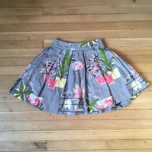 Vintage Flower Pot Skirt